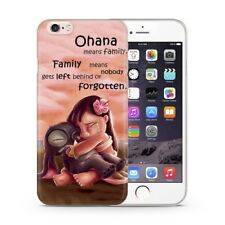 "Lilo & Stitch Caso/Cubierta Apple iPhone 6/6s (4.7"")/Protector De Pantalla/GEL/abrazo"