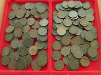 COLLECTION, LOT, GERMANY WEIMAR 2 PFENNIG, 161 pc, 571 g  #xxC 44