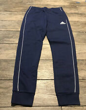 New Adidas Core 18 Warm Up Pants Tapered Blue  Football Fit Youth Size Large