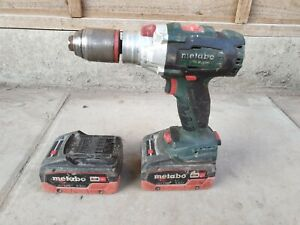 Metabo Brushless SB 18 LTX BL I Combi Drill with x2 Batteries