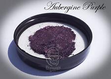 Aubergine Purple Pearl Powder Pigment paint plastidip nail art mica 25g