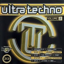 Compilation 2xCD Ultra Techno - Volume 2 - France (M/M)