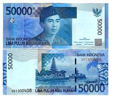 INDONESIA 50000 50.000 RUPIAH 2005/2007 UNC P 145 b