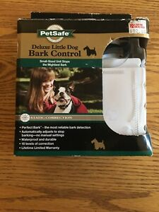 PetSafe Deluxe Little DogBark Control Static Correction PBC00-10782 NEW OPEN BOX