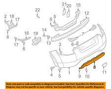 AUDI OEM 04-06 TT Quattro Rear Bumper-Lower Cover 8N0807421F3FZ