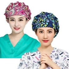 2pack Women's Adjustable Bouffant Cap Hats Working Cap Sweatband Value