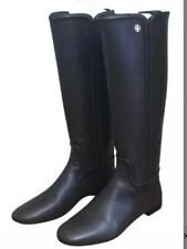 2fc4362170b Tory Burch Womens Irene Black Riding Boots Shoes 7 Medium