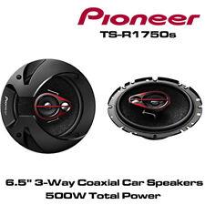 """Pioneer TS-R1750s - 17 cm 6.5"""" 3-Way Coche Coaxial Puerta Altavoces 500 W potencia total"""