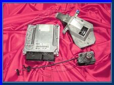 BMW e65 7 Series 3.0d m57n Diesel Engine ECU Set DDE cas ZAS RHD Commutateur Key Lock