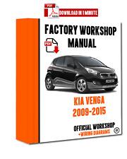 kia carnival sedona 2006 2009 service repair workshop manual