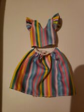 NEW  2019 / 2020 RAINBOW SKIRT SET for Barbie doll FITS CURVY TOO
