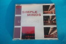 """SIMPLE MINDS """"LOVE SONG """" CD SINGLE 1990 VIRGIN RECORDS UK NUOVO"""