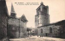 MARSAC église paroissiale et ancienne église des pénitents