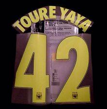 2014-15 Manchester City C/L tercera Camisa Toure Yaya #42 sportingid nombre número Set