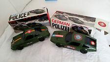RARISSIMA MASERATI INDY e PORCHE 911 AMERICAN POLICE e GERMAN POLIZEI REEL 1:24
