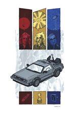 Back To The Future Poster - Einstein - Newton - Hawking - #1 of 5