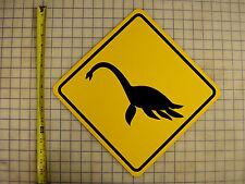 Plesiosaurus Crossing Sign