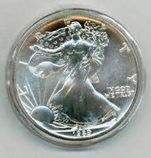 10 40mm Air-Tite Air Tite Airtite Coin Capsules For 1oz U.S. Silver Eagles H40