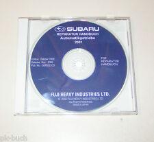 Werkstatthandbuch auf CD Subaru Automatikgetriebe Reparaturhandbuch - 2001!