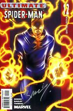 Ultimate Spider-Man #12 Electro Signed By Artist Mark Bagley