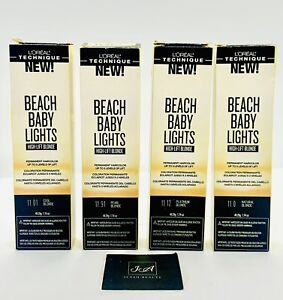 LOREAL BEACH BABY LIGHTS HIGH-LIFT BLONDE PERMANENT HAIRCOLOR 1.74 OZ