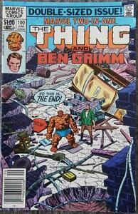 MARVEL TWO-IN-ONE featuring THE THING  #100  {MARVEL}  1983  BEN GRIMM