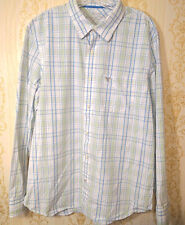 American Eagle mens shirt XL Vintage Fit Long Sleeve Button Front Plaid