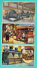 Germany ERDAL KWAK Mechanism lot of 5 Vintage cards 210