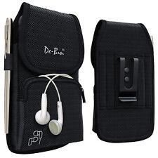 De-Bin Samsung Galaxy S20/ S10/ S9/ S8 Phone Holster w/ Belt Clip Pouch Holder