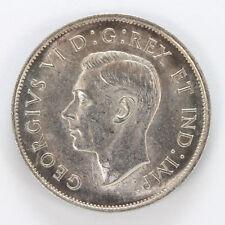 1938 Canada Silver Half Dollar George VI Km36 - BU #01282139g