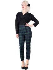 Spandex Vintage Trousers for Women