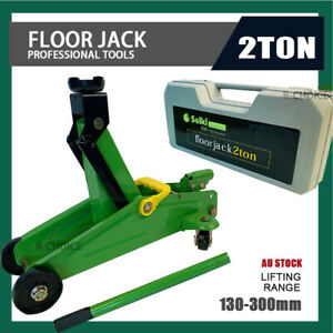 NEW 2 Ton Hydraulic Floor Jack Trolley Low Profile Car Quick Lifting 130-300mm