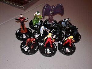 Team Base RAVEN 064 teen titans lot Heroclix
