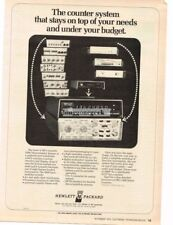 1975 HP Hewlett Packard 5300 Measurement System TV Repair Service Vtg Print Ad