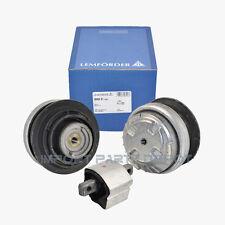 Mercedes Engine Motor Mount & Transmission Mount Kit Lemforder OEM 2200617 (3pc)