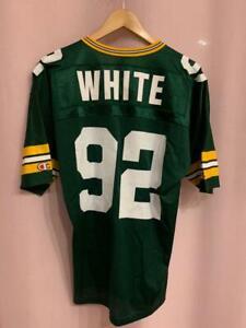 NFL GREEN BAY PACKERS AMERICAN FOOTBALL SHIRT JERSEY CHAMPION REGGIE WHITE #92
