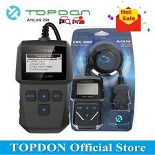 TOPDON ArtiLink 200 OBDII EOBD Auto Diagnostic Tool OBD2 Car Fault Code Reader