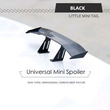 Car Mini Small NO Perforation Tail Wing Spoiler Decoration Sticker Universal