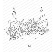 Oh Deer - L20784 Impression Obsession Cling Rubber Stamp