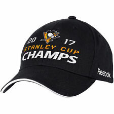 Pittsburgh Penguins Reebok 2017 Stanley Cup Champions Structured Adjustable Hat