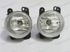 1Pair New Front Fog Lights Lamps With Bulbs For Dodge Journey 2009-2010