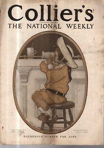 1905 Colliers May 27 - Jessie Willcox Smith; Merkel; Will Bradley; Chinese; Auto