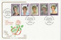 3 FEBRUARY 1998 PRINCESS DIANA COTSWOLD UNADDRESS FIRST DAY COVER KENSINGTON SHS