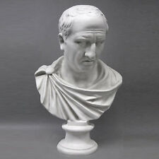 "Roman Orator Cicero Emperor bust 28"" Museum Sculpture Replica Reproduction"
