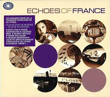 Echoes Of France 2-CD NEW SEALED Jacques Brel/Edith Piaf/Sidney Bechet+