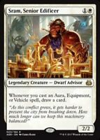 Sram, Senior Edificer - Foil x1 Magic the Gathering 1x Aether Revolt mtg card