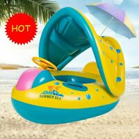 For Baby Kids Summer Pool Swimming Ring Inflatable Swim Toys Float Water Sport