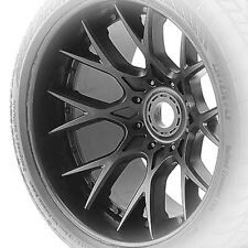"""Sweep Racing C1200 Monster Truck SRC WHD 1/2"""" Off-set Black Wheel Only (1pc)"""