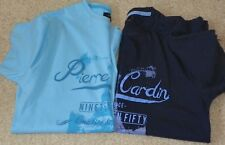 2 x Pierre cardin t shirts (size Small)