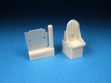 Barracuda 32172  1/32 Spitfire Mk I-V Resin Seat with Backpad for Revell